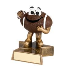 4 in. Resin Happy Football Trophy
