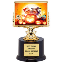 "Halloween Trophy - Black Acrylic ""Halloween Kids"" Trophy"