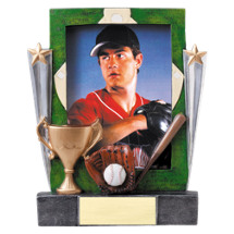 Baseball Trophy - Baseball Photo Frame Award