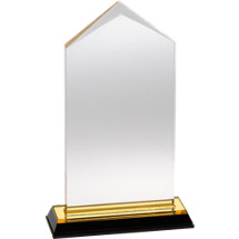"3 1/2 x 7"" Sleek and Slender Lucite Award"