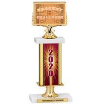 "Basketball Bracket 2020 Trophy 12 1/2"""