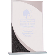 Rectangular Premier Designer Glass Award