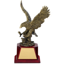 Bronze Eagle Award - 5 x 12""