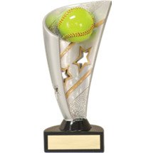 Softball Trophy - 3D Resin Softball Award