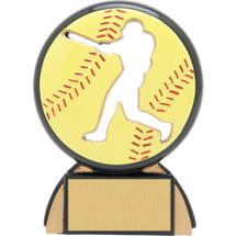 Softball Trophy - Female Softball Resin Award