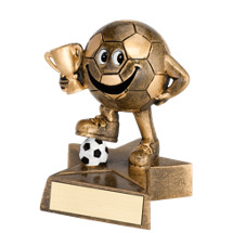 Soccer Trophy - Resin Happy Soccer Trophy