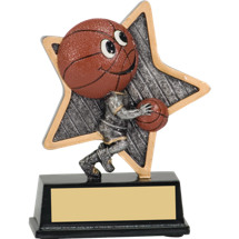 Basketball Trophy - Little Pal Basketball Resin Award
