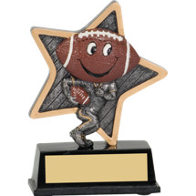 "5"" Little Pal Resin Football Award"