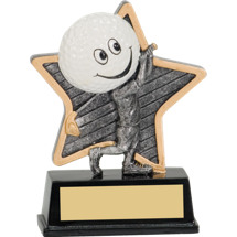 Golf Trophy - Little Pal Golf Resin Award
