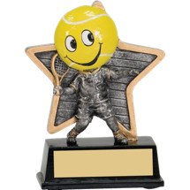 Tennis Trophy - Little Pal Tennis Resin Award