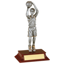 Basketball Trophy - Male Resin Basketball Trophy