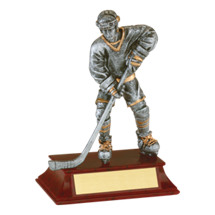 "Limited Quantity! Hockey Trophy - Male - 6"" Resin Trophy"