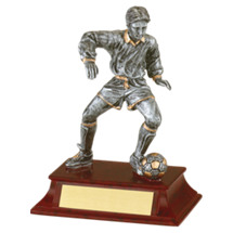 Soccer Trophy - Male - Resin Trophy