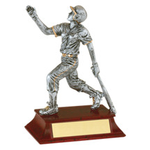 Limited Quantity! Softball Trophy - Female Softball Resin Trophy