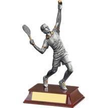 "Tennis Trophy - Male - 8"" Resin Trophy"