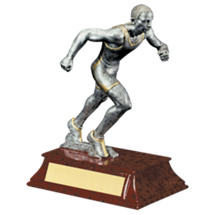 "Limited Quantity! Track Trophy - Male - 6"" Resin Trophy"