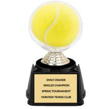 "5 1/4"" Tennis Ball Display Trophy"