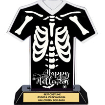 Halloween SKELETON Costume Trophy - 7 inches