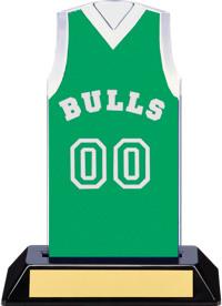 e5afe2998ff6 Green Team Name   Number Jersey Award
