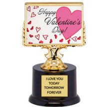 Happy Valentine's Day Trophy