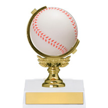 Spinning Baseball Trophy