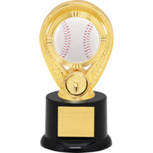 Baseball Trophy - Colorful Baseball Riser Trophy