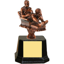 Armchair Basketball Fan Trophy