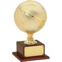 Basketball Trophy - Gold Finish Basketball Trophy