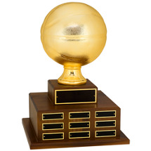 Official Size Basketball Perpetual Award