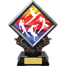 Dance Diamond Emblem Resin Award