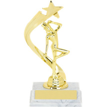 "Dance Trophy - 8"" Jazz/Tap Rising Star Trophy"