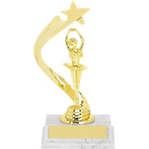 Dance Trophy - Ballerina Rising Star Trophy