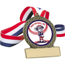 Softball Medal - Dixie Softball Medal