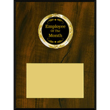 Classic Emblem Plaque | Employee of the Month