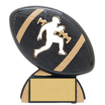 "4 1/2"" Male Football Shadow Resin Award"