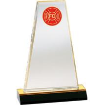 Designer Acrylic Fire Department Award