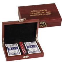Custom Playing Card and Dice Set