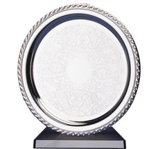 """10-12"""" Serving Tray with Removable Base"""