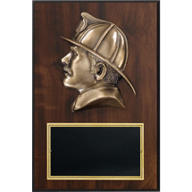 "8 x 12"" Fire Department Plaque"