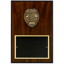 "8 x 12"" Police Badge Plaque"