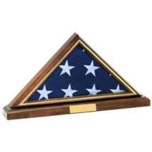 "27 3/4 x 14 5/8"" Memorial 5' x 10' Flag Holder w/Base"