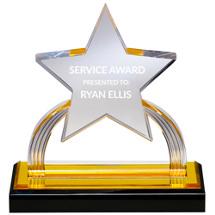 Lucite Star Award