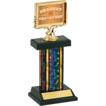 "12"" Basketball Bracket Challenge Trophy"