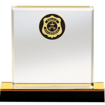 Beveled Edge Acrylic Police Award