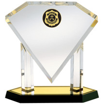 "Acrylic ""Diamond"" Police Award"