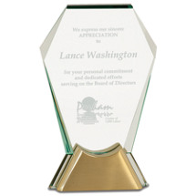 Modern Crystal Presentation Award