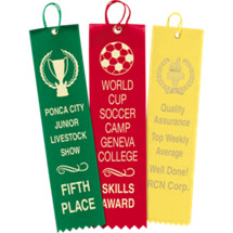 Custom Printed Straight Ribbons