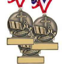 "2 3/4"" Super Saver 2017 Religious Cast Medal Package Deal - Set of 12"