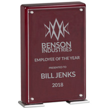 Sparkle Rosewood Standing Plaque