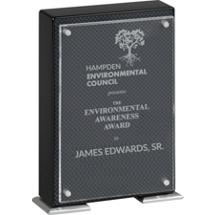Sparkle Carbon Fiber Standing Plaque